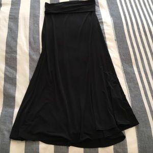 Black LulaRoe Maxi Skirt